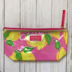 FREE with purchase- Lilly Pulitzer  🍋 makeup bag